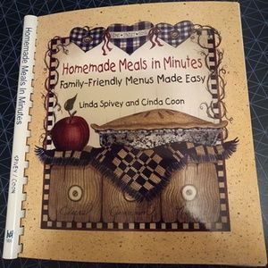 Other - Homemade Meals in Minutes: Family-Friendly Menus M